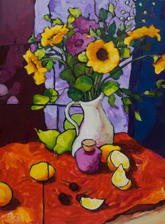 Helianthus with Lemons - Angus Wilson