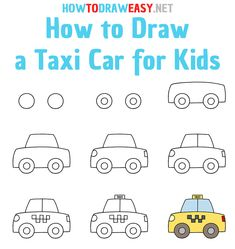 Drawing Lessons For Kids, Art Drawings For Kids, Art Drawings Sketches Simple, Doodle Drawings, Easy Drawings, Elementary Drawing, Doodle Art For Beginners, Arabic Alphabet For Kids, Rock Painting Ideas Easy