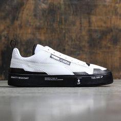 0b303c169702f6 Puma x UEG Men Court Play Slip-On (white   black)