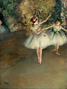 degas ballerina | ... muybridge and film makers lumiere brothers degas and the ballet