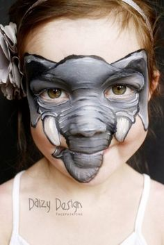 Funzug.com | Creative Face Paintings By Christy Lewis | Artist, Painting, Face, Passionate, She