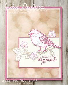 www.thewaywestamp.com Best Birds by Stampin' Up! #FMS274 #bestbirds #stampinup handmadecards #diycards #thewaywestamp #juliedeguia