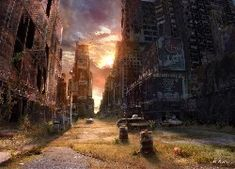 Apocalypse now: Russian artist transforms real-life photographs to show how cities might look after the end of the world Post Apocalypse, Apocalypse Aesthetic, Apocalypse World, Apocalypse Survival, Photoshop, Post Apocalyptic Art, Cities, World Photography, Travel Photography