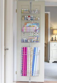 Sewing room closet door - 7 More Ways to Get Organized Using Doors