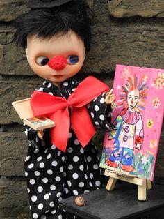 Edward plays clown