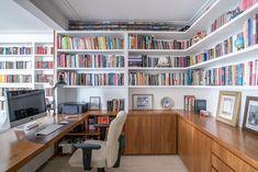 Home Design Decor, Home Library Design, Home Office Design, Home Office Decor, House Design, Interior Design, Home Decor, Home Library Rooms, Home Libraries