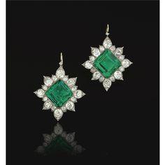 Earrings 1880s Sothebys