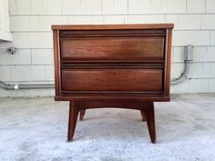 Midcentury 1960s Night Stand/End Table
