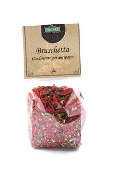 Bruschetta - condiment for appetizer. #pasta #bruschetta #condiment #pepper #sicily #siciliancuisine #gourmet