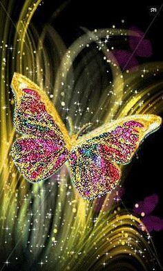 DIY Diamond Painting Cross Stitch sets Home decoration full square Diamond Embroidery butterfly icon painting rhinestones Butterfly Gif, Butterfly Pictures, Butterfly Kisses, Butterfly Wallpaper, Beautiful Butterflies, Beautiful Flowers, Art Papillon, Glitter Graphics, 5d Diamond Painting