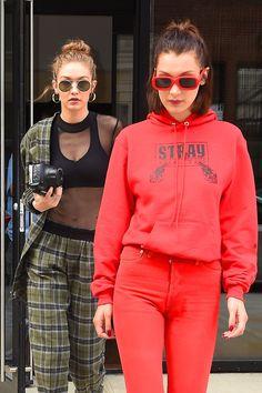 May 4: Gigi and Bella hadid leaving Gigi´s apartment in NYC