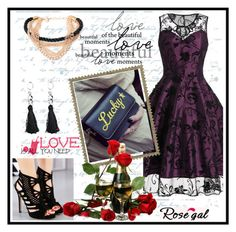 """""""Rosegal 16/III"""" by aazraa ❤ liked on Polyvore featuring vintage"""