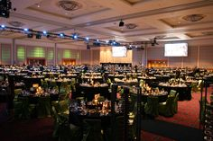 The OCC's Portland Ballroom is the largest ballroom in Oregon.