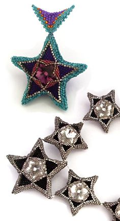 *P Geometric Crystal Stars - image copyright © Jean Power