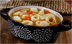 I'm bringing JOY to the table with this Barilla Collezione Tortellini Soup with Vegetables, Potatoes, & Cannellini Beans recipe. Get the recipe!