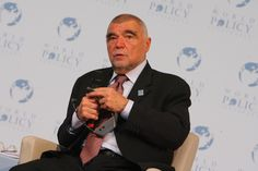 WPC 2008, Evian - Stepan Mesic, President of the Republic of Croatia