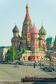 Been here - beautiful and colorful - St. Basil's in Moscow, Russia