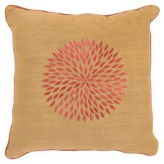 I pinned this Dahlia Pillow from the Cozy Cottage event at Joss and Main!