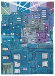 Seoul City #3 Art Print by Rob McClelland