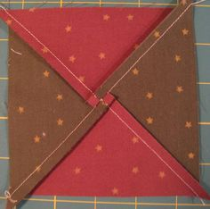 Beginner's Quilt-Along: Block 11 / Quilting Gallery how to nest hourglass block seams