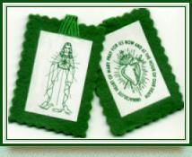 Make a Green Scapular - ROSARY MAKERS GUIDE