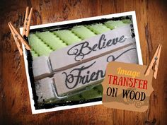 DIY tutorial: Immagini su legno fai da te - DIY Image transfer on wood - YouTube