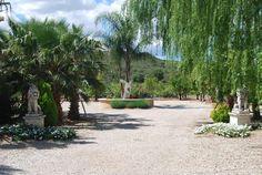 El camino de entrada a la Villa de Lujo