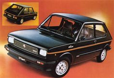 The classic Fiat 127 still looks nice, we are looking forward to the new model! #throwbackthursday #classic #Fiat127