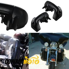 196.78$  Buy now - http://ali73g.shopchina.info/1/go.php?t=32587753732 - Motorcycle Lower Vented Leg Fairings Kit For Harley Davidson Touring Road King Electra Glide FLHT  #buymethat