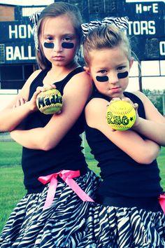Softball Girls  So FUN!