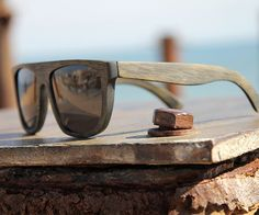 Data Bamboo Vintage Sunglasses by Waiting for the Sun