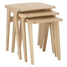 Buy John Lewis Duhrer Nest of Tables Online at johnlewis.com