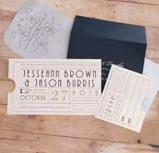 Punch Card Vintage Train Ticket Wedding Invitation - Union Station Train Depot Railroad Theme - or Birthday, Bar / Bat Mitzvah Invitation Trendy Wedding, Diy Wedding, Dream Wedding, Wedding Ideas, Wedding Music, Vintage Wedding Invitations, Wedding Stationery, Ticket, Bar Mitzvah