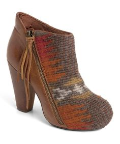 Picante Wool & Leather Go Wild! Bootie