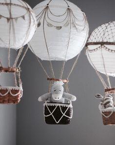 Nursery Hot Air Balloons