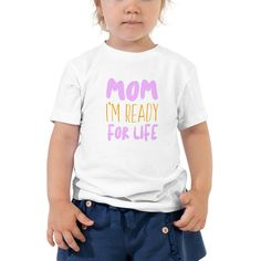 Let your toddler do their thing while feeling super comfy and looking extra stylish in this short-sleeve jersey t-shirt from cotton with a unique print. The tee is soft, durable, and bound to become the staple of your toddlers wardrobe. School Shirts, Kids Shirts, Cool T Shirts, T Shirts For Women, Georgia Bulldogs Shirt, Girl Empowerment, Cute Toddlers, Baby & Toddler Clothing, Short Girls