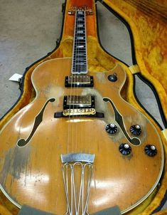 Ted Nugent's 1963 blond Gibson Byrdland