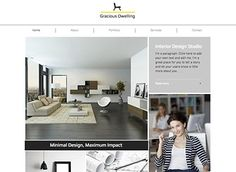 Interior Design Firm Template