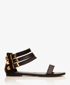 Buckled Open-Toe Sandals   FOREVER 21 - 2041788429