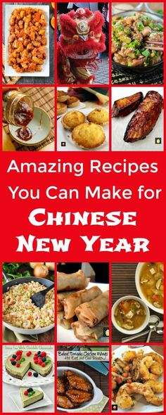 Amazing Recipes You Can Make for Chinese New Year, a great selection of appetizers, mains and desserts plus a few dim sum recipes for you to enjoy! via @lovefoodies