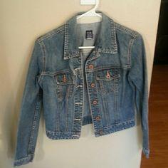Gap jacket Very cute Gap jean jacket.  Only worn a few times. GAP Jackets & Coats Jean Jackets