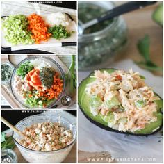 This Easy Buffalo Ranch Chicken Salad is not your traditional homemade chicken salad recipe!  It is PACKED full of flavor and super delicious! As a bonus, it is Paleo, Whole30 Compliant, gluten fre…