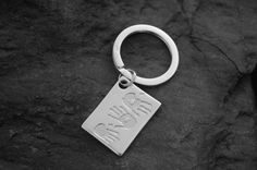 Have your children's hand or footprints put on your own personalised keyring.  We will engrave their names on the reverse. http://silverhavenjewellery.com/products/224227--triple-print-keyring.aspx