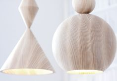 Cones pendant lamps and Orbs pendant lamp by PRISMME - prismme.com
