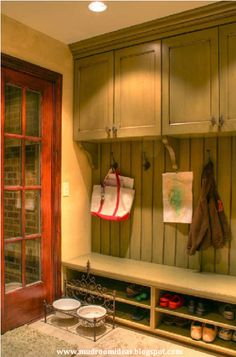 Small mudroom | Storage Ideas |