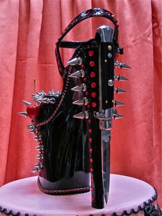 """{photo from here} Happy Weird Shoe Wednesday shoe lovers! Today's """"weird"""" shoes are these works of art by Scott Hove. I am not sure i..."""
