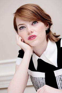 Emma Stone at the 'Birdman' Press Conference (October 13, 2014)