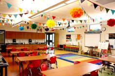 A Rainbow-Themed Classroom | 30 Epic Examples Of Inspirational Classroom Decor
