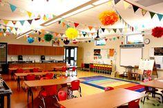 A Rainbow-Themed Classroom | 30 Epic Examples Of Inspirational Classroom Decor