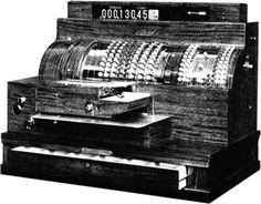 NCR Cash Register (1921).